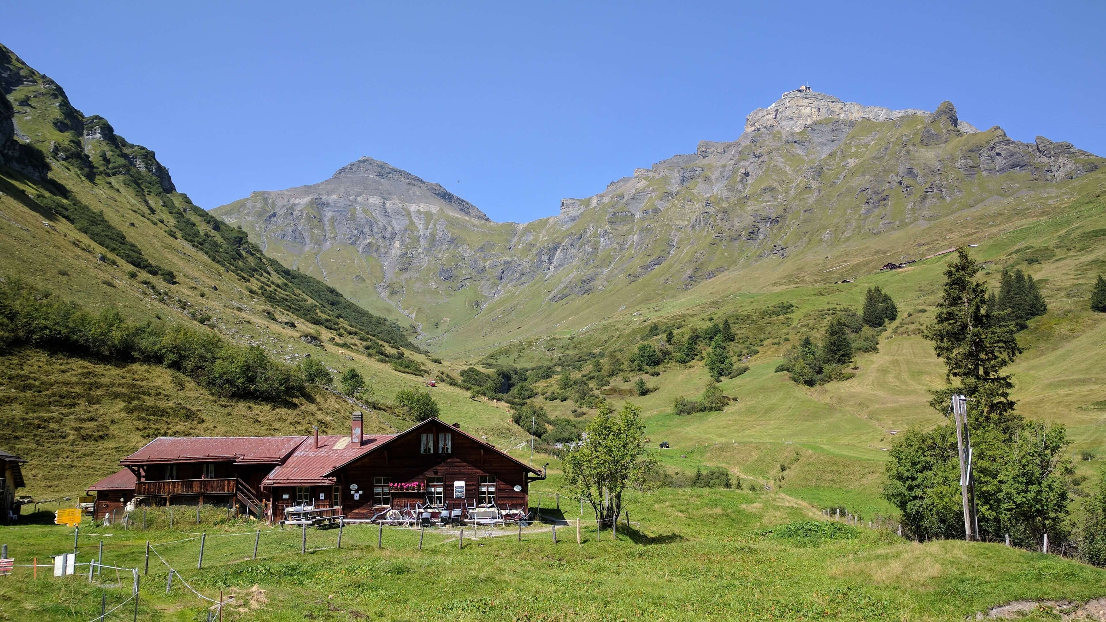 Stechelberg – Schilthorn (Piz Gloria)